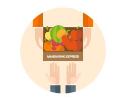 качественные фрукты